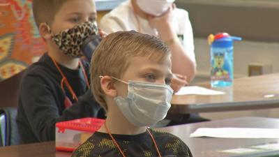 JCPS students return to in-person learning