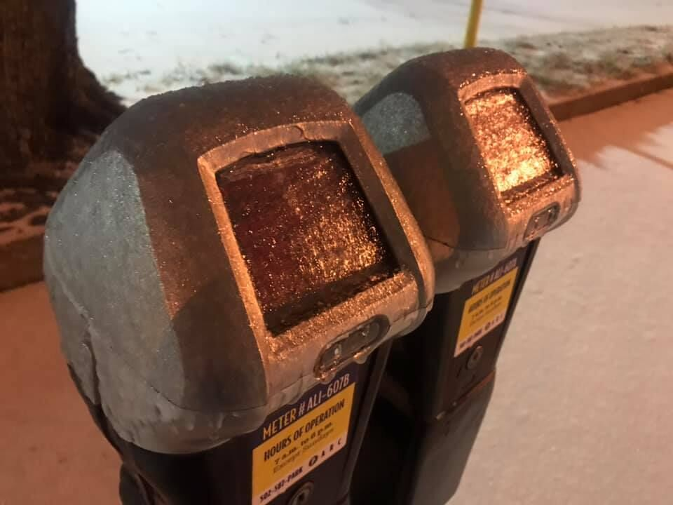Ice on Parking meter in downtown Louisville.jpg
