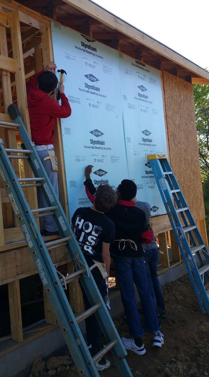 Hardin County students build Habitat for Humanity homes
