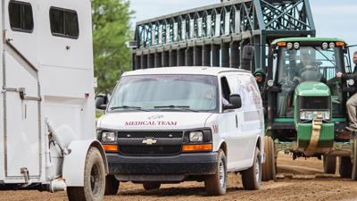 racetrack ambulance