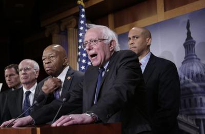 Sanders 5 Shot via AP