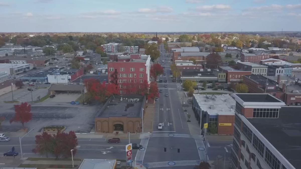 New Albany, Indiana, WDRB SkyCam image (generic)