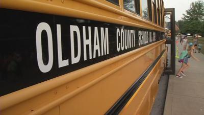 Oldham County Public Schools bus (generic)