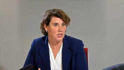 Amy McGrath at WDRB June 2020