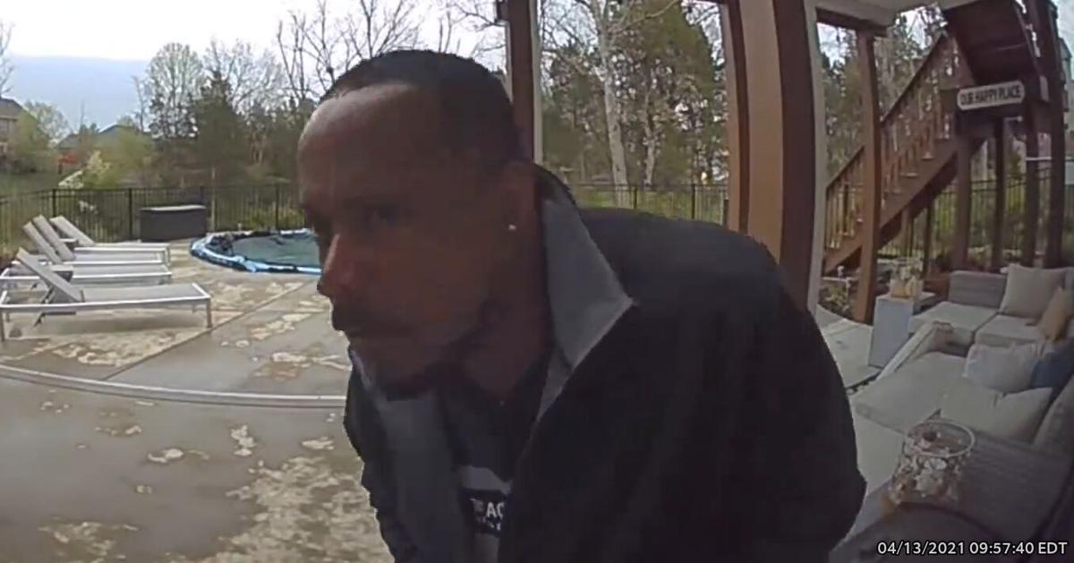Burglary suspect - April 14, 2021 - Louisville's Poplar Lakes neighborhood