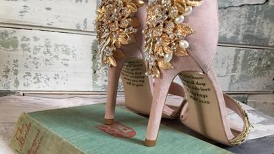 England wedding heels