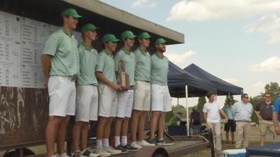 Trinity wins the boys region 6 golf title