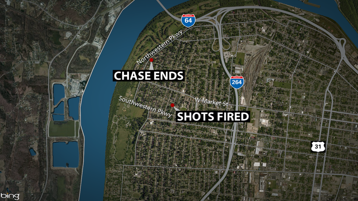 police chase fire map 6-13-19