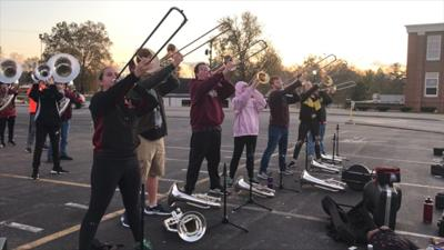 The Marching Colonels from Bourbon County High School