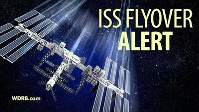 LOOK UP! The International Space Station Will Fly Over Your House Tonight...