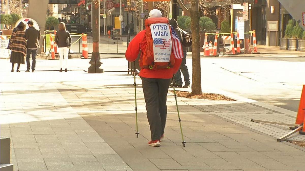 Veteran walks for PTSD passes through Louisville.jpg