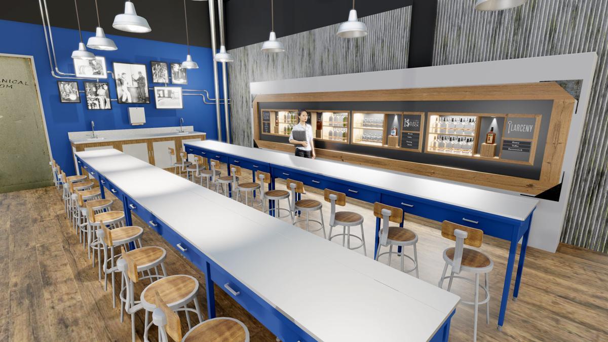 Heaven Hill bourbon tasting room