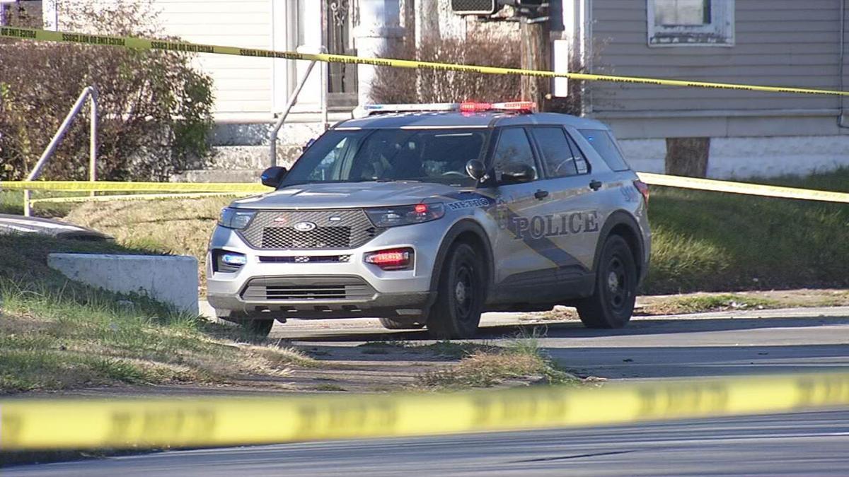 LMPD cruiser at crime scene (generic)