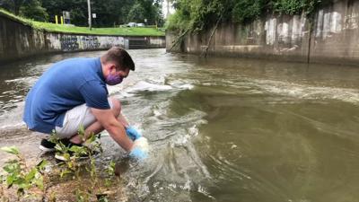 U of L water pollution collection, Sam Kessler