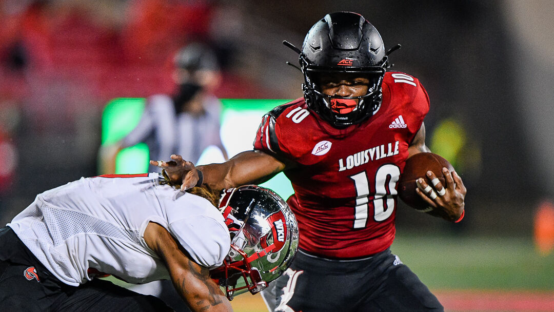 THE WRAP | Five takeaways from Louisville's 35-21 win over WKU | Sports |  wdrb.com