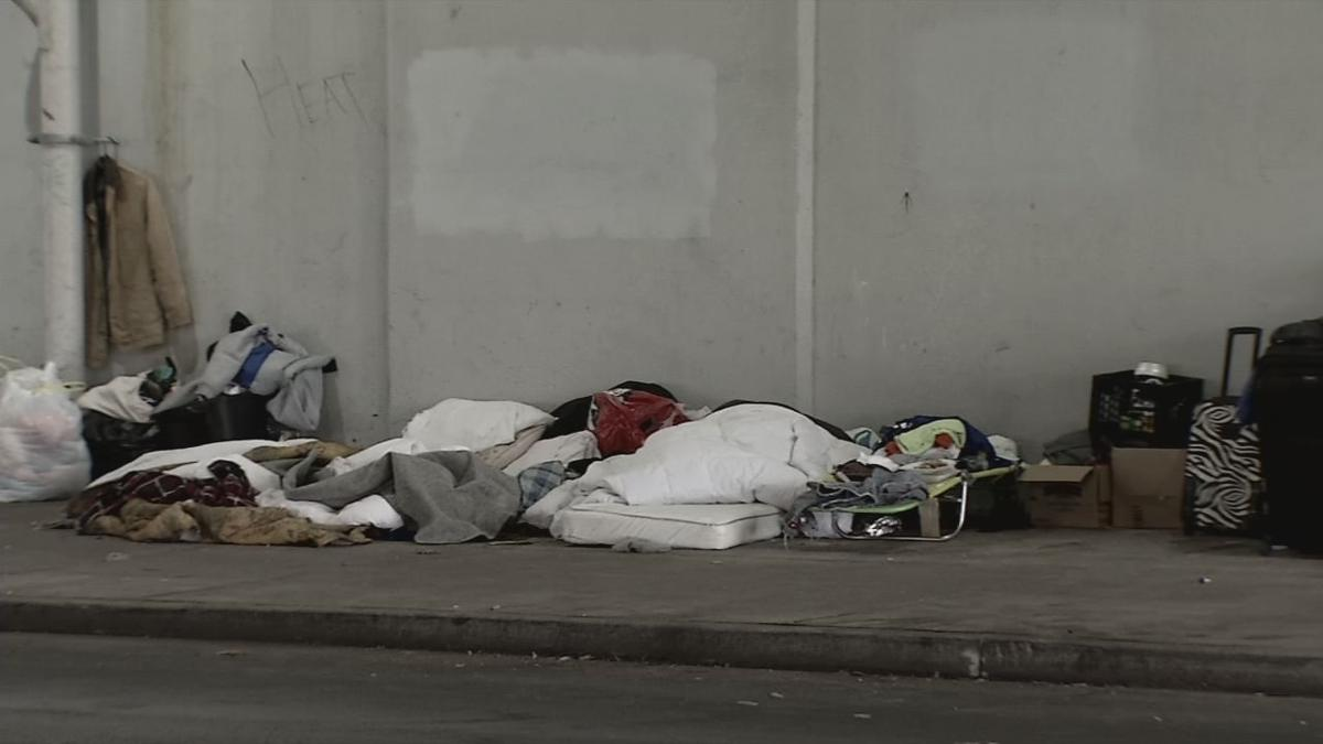 Homeless Downtown