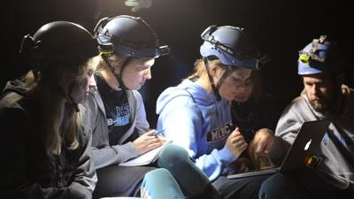 Mercy Academy students make historic discovery mapping Mammoth Cave