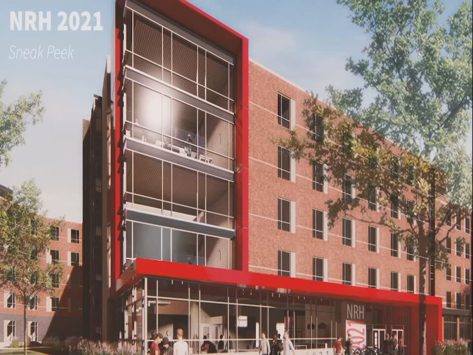 U of L New Dorm Rendering