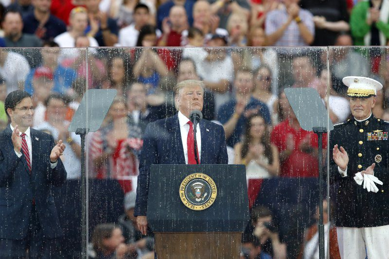 Trump Fourth of July Commemoration