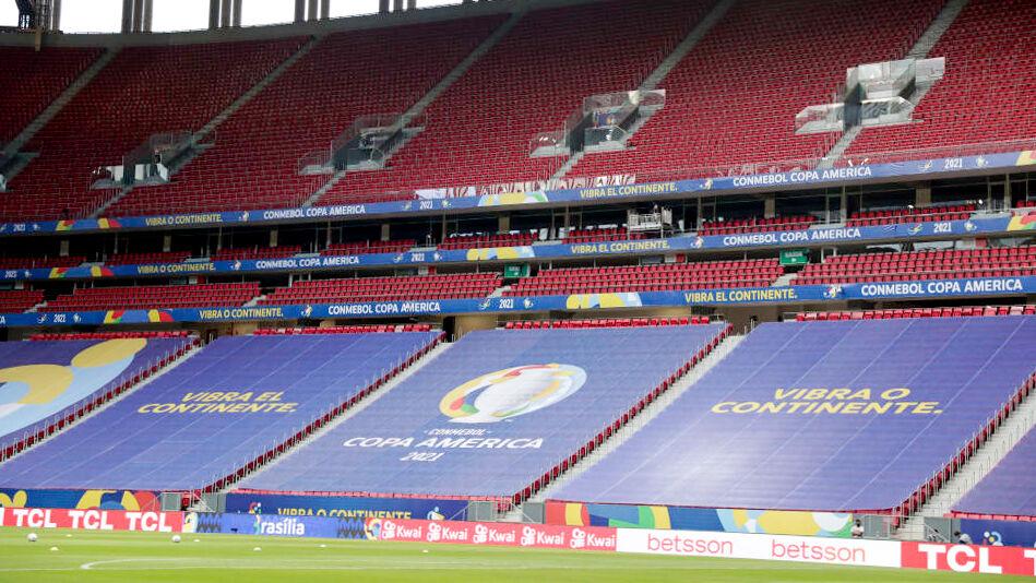 Copa America empty stands
