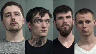 Four men accused of robbing victim at gunpoint in his own home