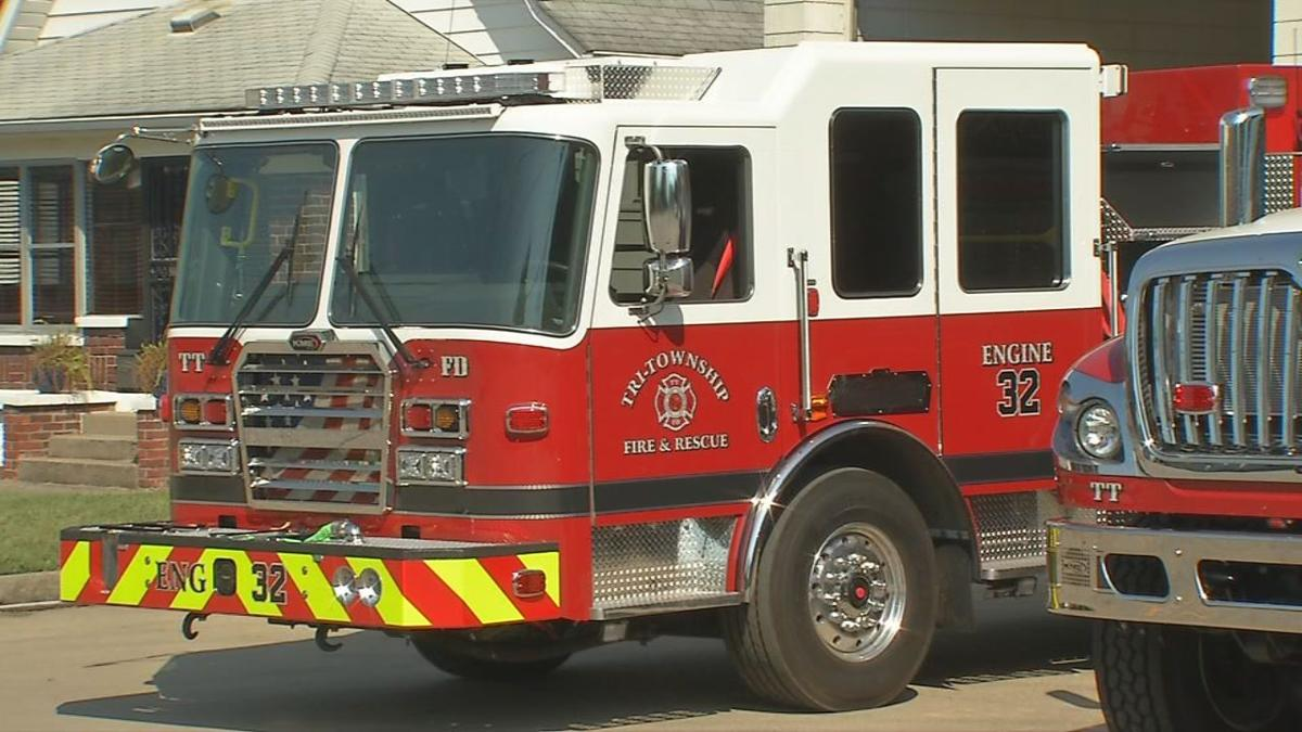 Tri-Township Fire Protection District fire truck