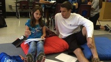 Cochran Elementary partners with U of L students for tutoring, mentoring program