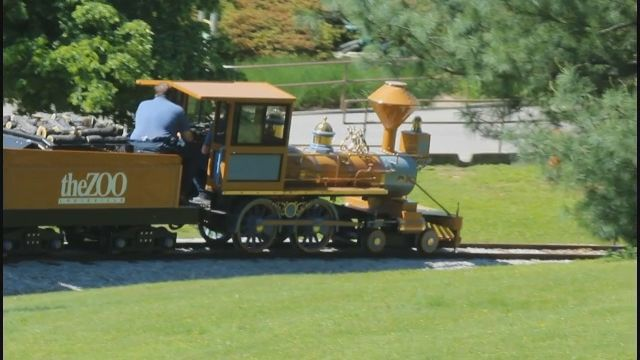 Louisville Zoo trains had to be modified before running on tracks