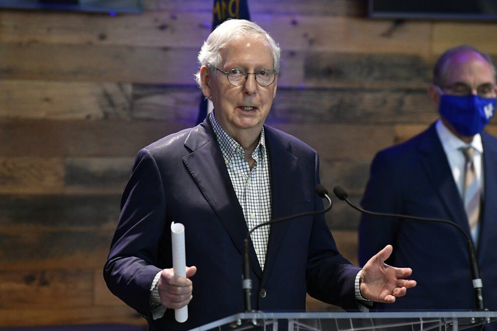 McConnell speaks at Kroger Field