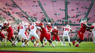 Louisville football empty seats