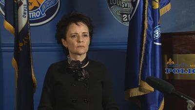 LMPD Chief Erika Shields