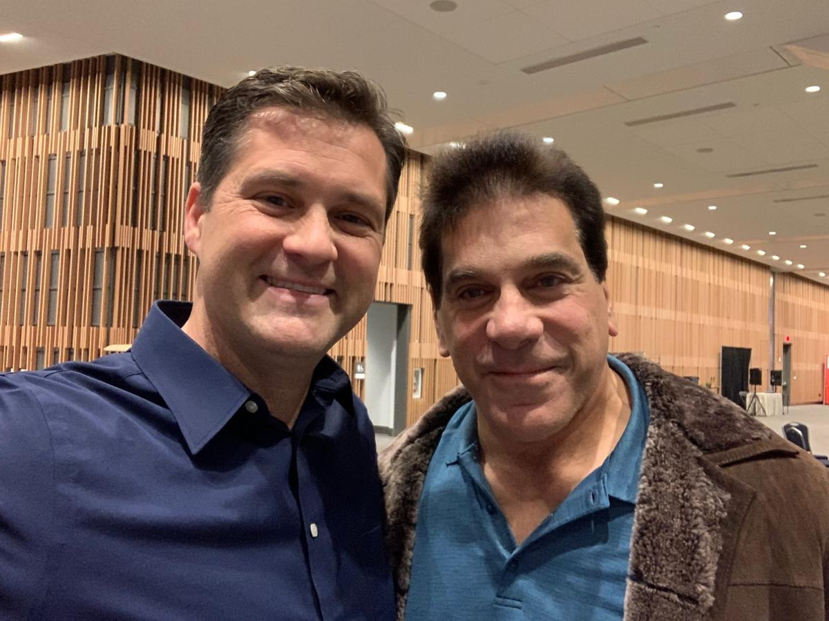Keith and Lou Ferrigno at GalxyCon