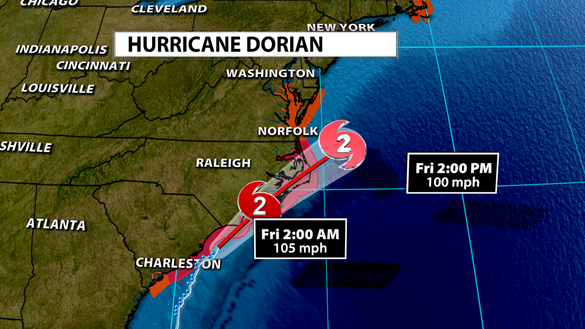 When Hurricane Dorian Moves Away from the United States