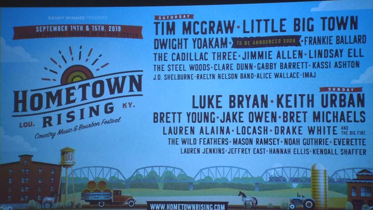 Hometown Rising Lineup