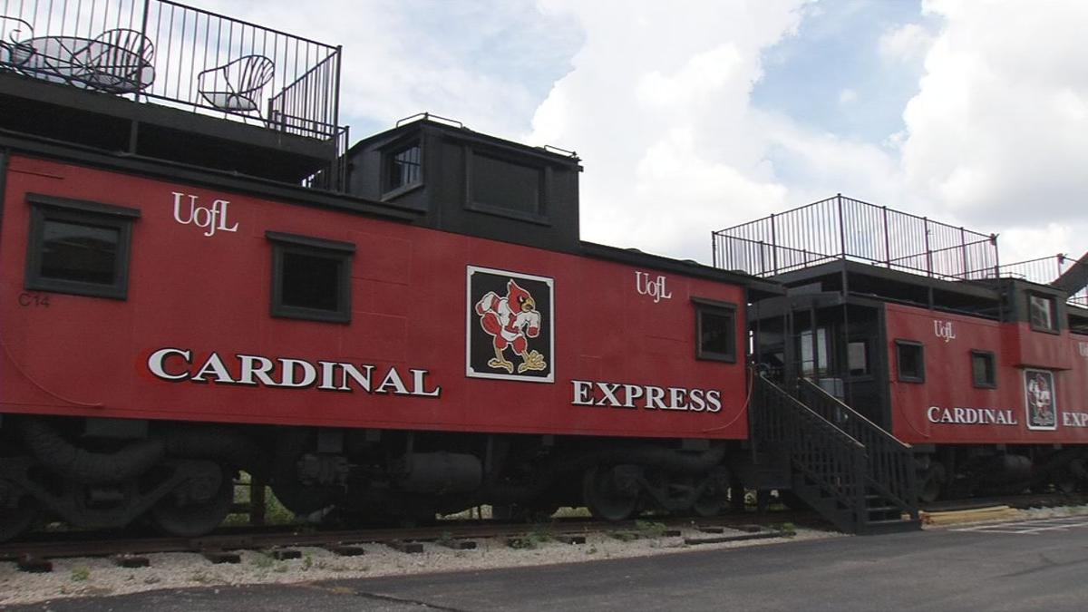 U of L purchases train cabooses near Cardinal Stadium for
