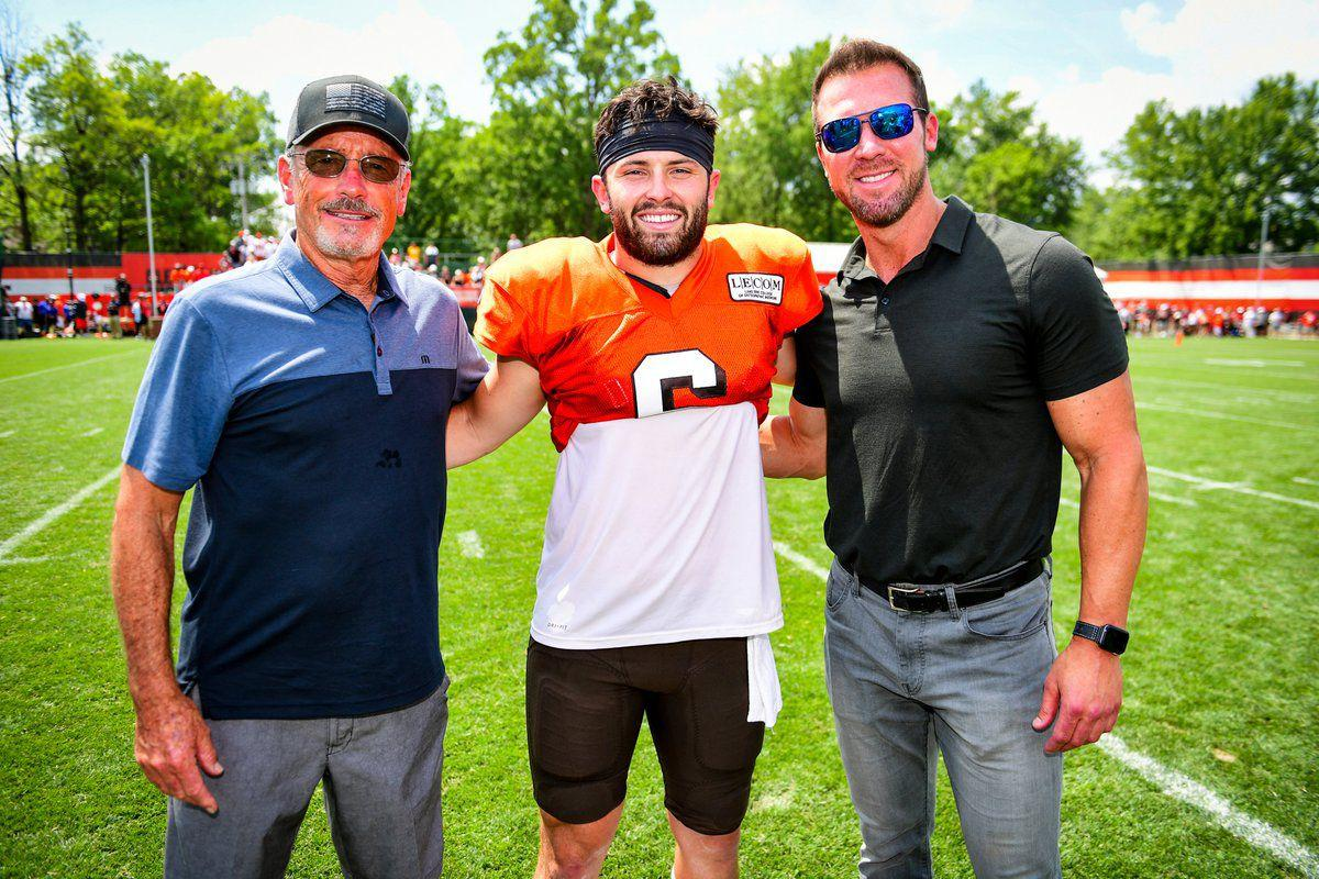Tim Couch at Browns Camp