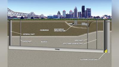 MSD budgets $200 million for Ohio River Tunnel project