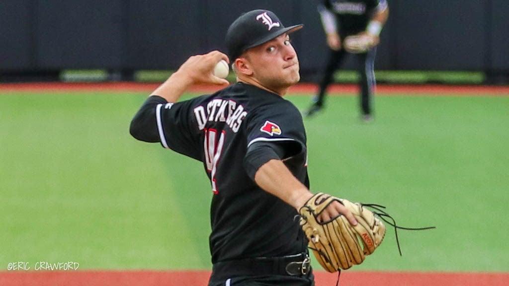 Reid Detmers Louisville baseball
