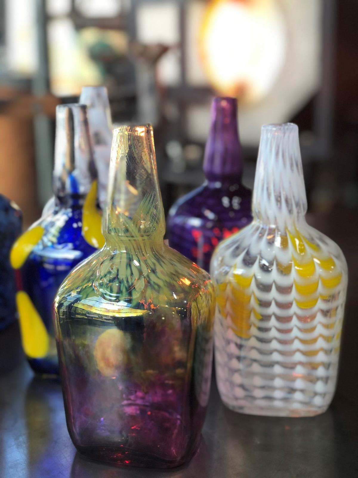 Artsy Maker's Mark bottles to be auctioned off to benefit Centre College's glassblowing program