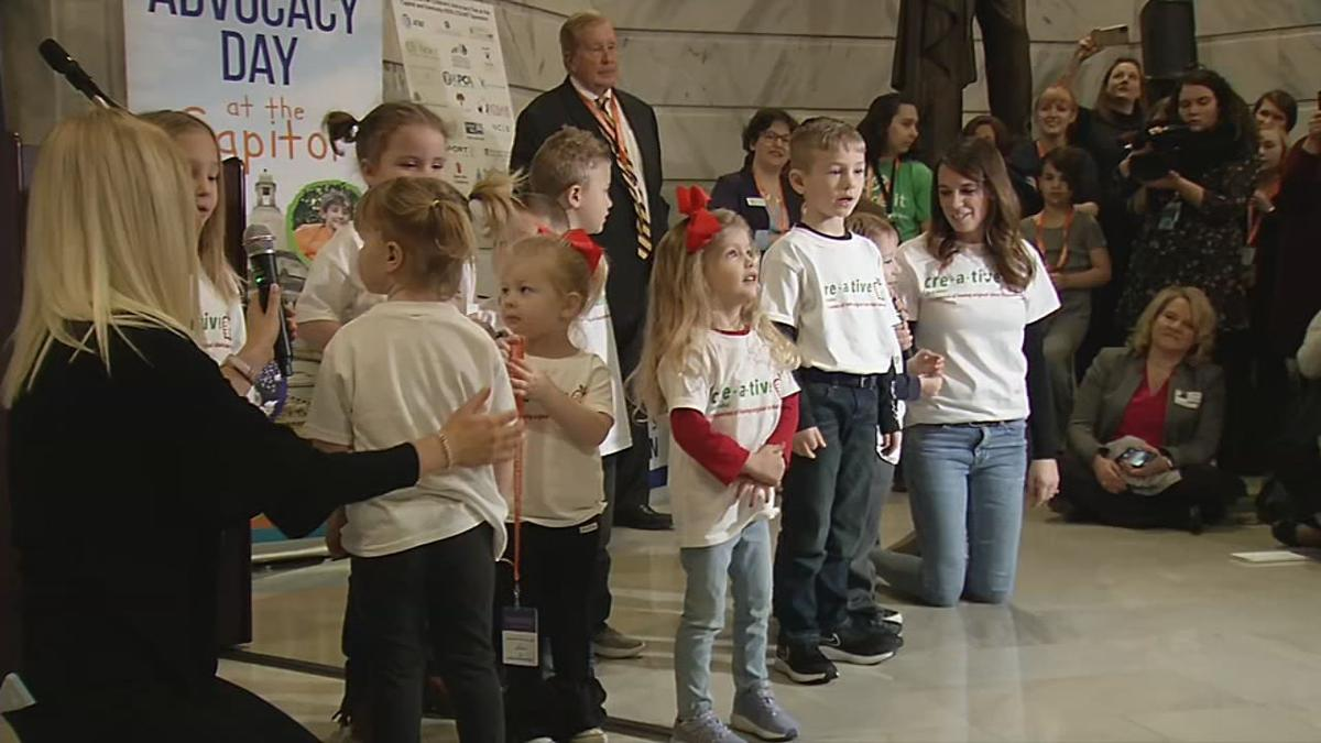 Child Advocacy Day in Frankfort, Kentucky - Jan. 23, 2020