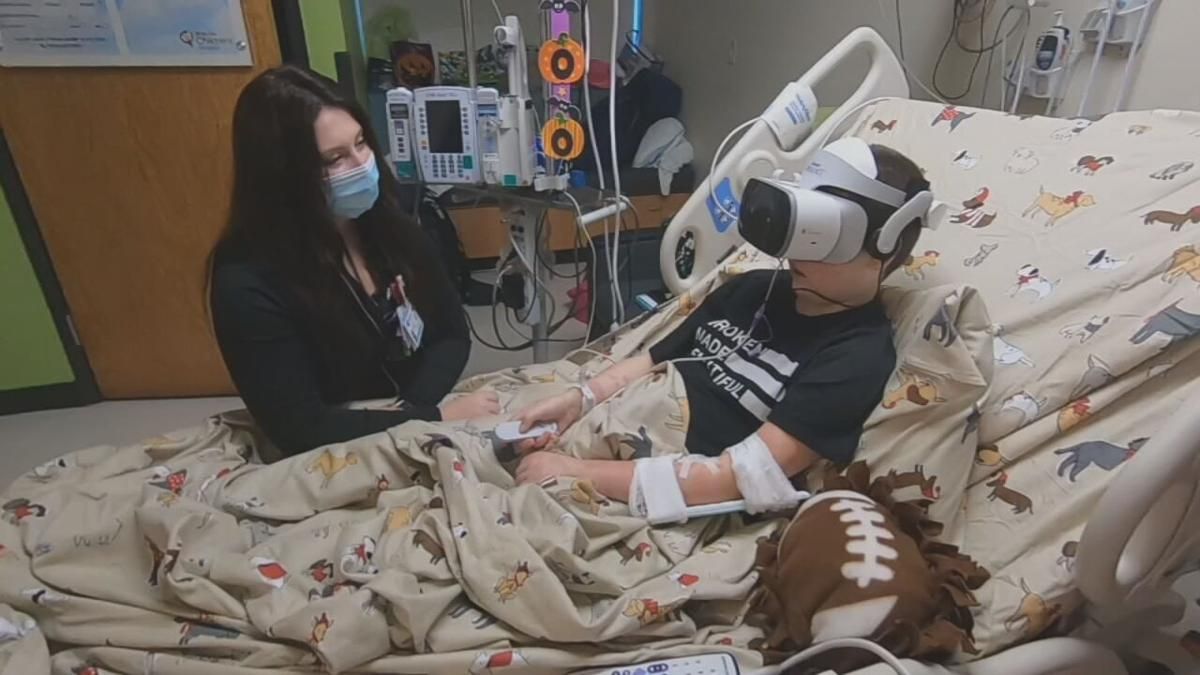 Norton Children's Hospital reduces patients' anxiety with new, virtual reality program