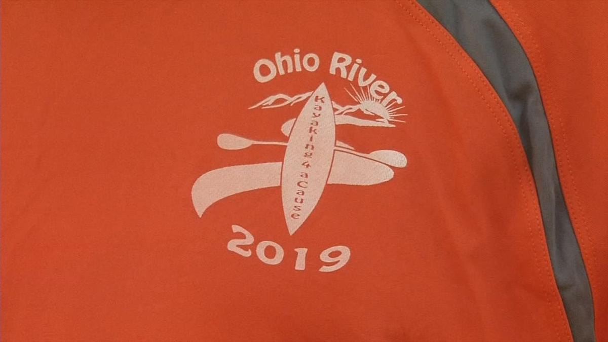 Man kayaking entire span of Ohio River to raise awareness
