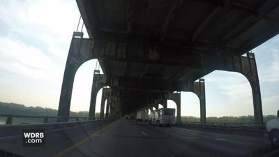 Construction to close 2 EB lanes of Sherman Minton Bridge weekend of Sept. 14