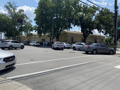 Homicide scene (1200 block of Hill Street) 6-12-2021