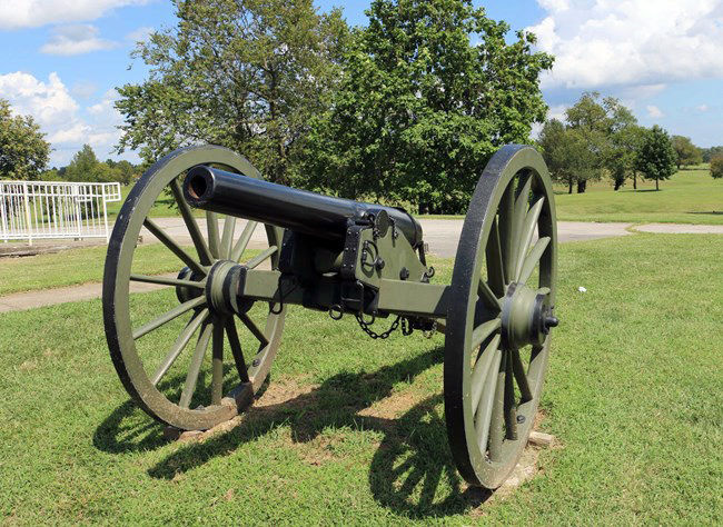 Cannon at Camp Nelson National Monument