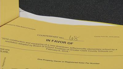 Signature battle gets heated for new school in downtown Jeffersonville