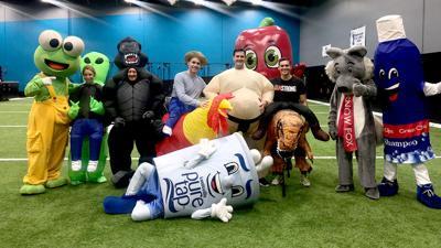 Mascot Bowl Combine group shot
