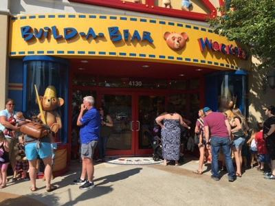 Customers overwhelm Louisville's Build-A-Bear on 'Pay Your Age' Day