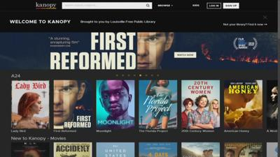 Library Streaming Service