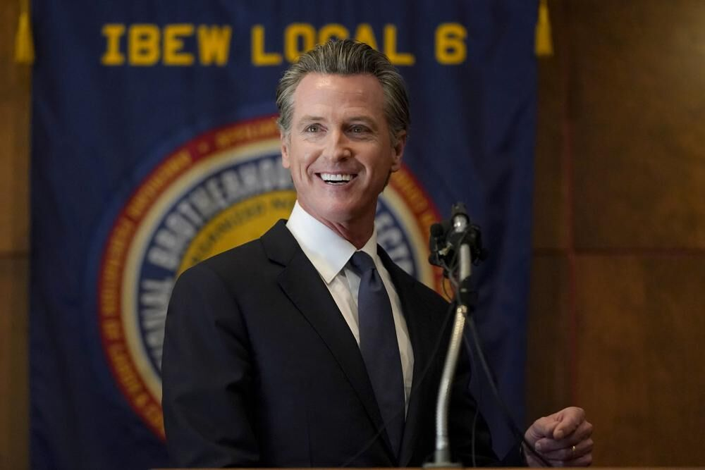 Newsom speaks after recall victory